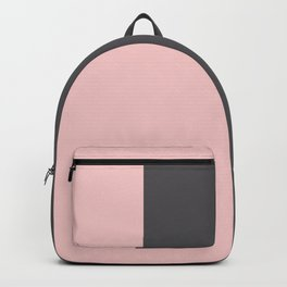 Millennial Pink Blush Coco Brown Neapolitan Backpack