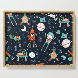 Space Race Serving Tray
