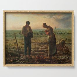 The Angelus Jean Francois Millet Serving Tray