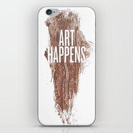 Art Happens iPhone Skin
