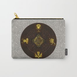 Ilvermorny Knot with House Shields Carry-All Pouch
