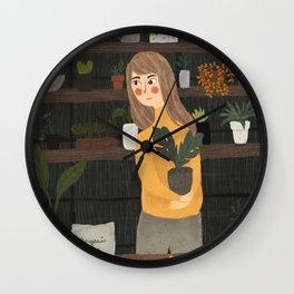 That Rainy Night Wall Clock