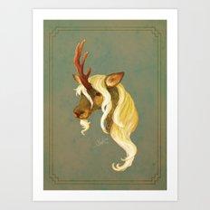 Kirin (Redux) Art Print