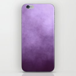 Beautiful Purple Glitter Sparkles iPhone Skin