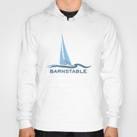 cape cod Hoodies featuring Barnstable - Cape Cod. by America Roadside