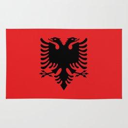 Albanian Flag - Hight Quality image Rug