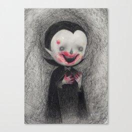 First Bite Canvas Print