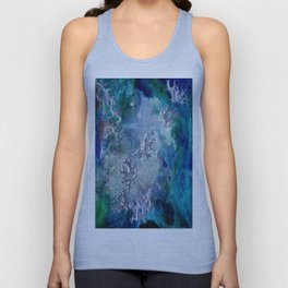 Lunar neuronal essence Unisex Tank Top