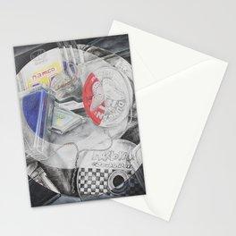 Broken Up Childhood Stationery Cards