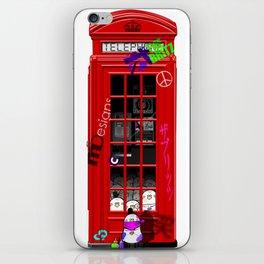 British Telephone Box iPhone Skin