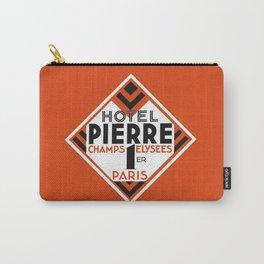 Hotel Pierre Paris Art Deco Carry-All Pouch
