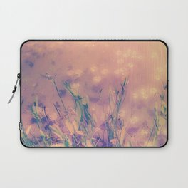 Lotus Pond and Spring Sunshine Laptop Sleeve