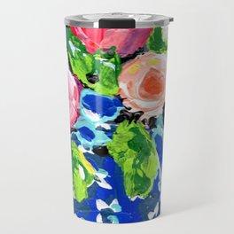 Bright Florals Ginger Jar Travel Mug