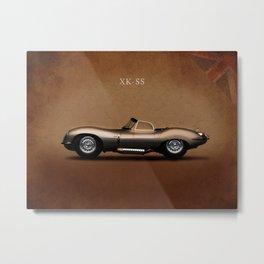 Jaguar XK-SS 1957 Metal Print
