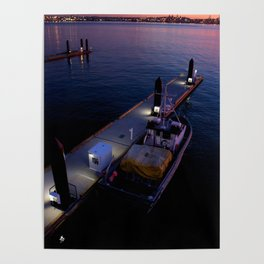 Boat in the Dock Poster