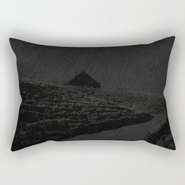 THE NIGHT IS BLACK Rectangular Pillow