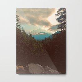 Mt Rainier III Metal Print