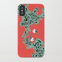 pisces iPhone & iPod Cases featuring Pisces by LindsayMichelle