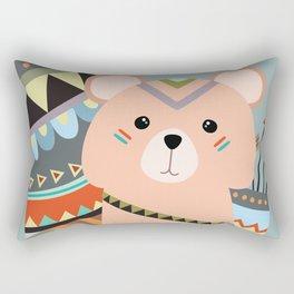 tribal squirrel Rectangular Pillow
