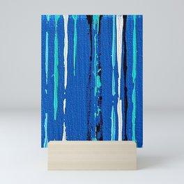 Aqua 2 Mini Art Print