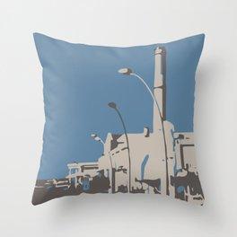 Namal Tel Aviv 2 Throw Pillow
