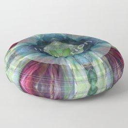 """""""Meditation"""" by Visionary Artist Carolyn Quan Floor Pillow"""