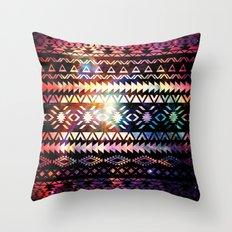 Galaxy Tribal Throw Pillow