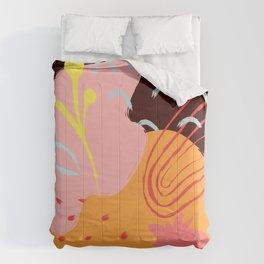 Abstract Pattern Modern Art 11 Comforters