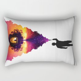 Find Your Light Rectangular Pillow