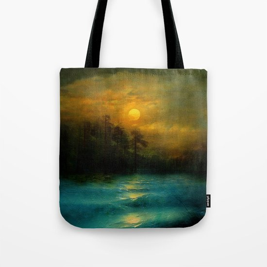 Hope, in the turquoise water. Tote Bag
