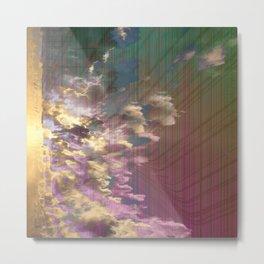 Spatial Factor 303 / Texture 02-11-16 Metal Print