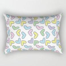 Pattern hearts Rectangular Pillow