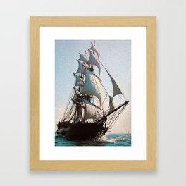 Black Sails Framed Art Print