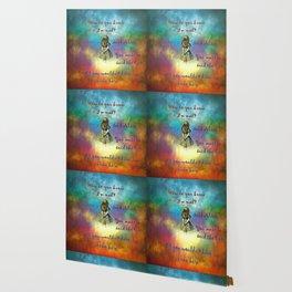 Wonderland Time - Alice In Wonderland Quote Wallpaper