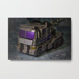 Decepticon Motormaster Metal Print