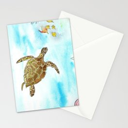 Turtle Reef Stationery Cards