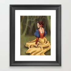 Snow White 2 Framed Art Print