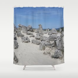 Stone forest Shower Curtain