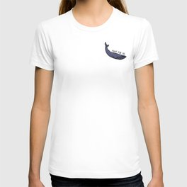Blue Whale - Humans Against Climate Change T-shirt