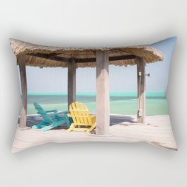 Rest and Relaxation Rectangular Pillow