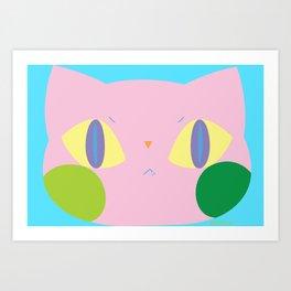 cat_02 Art Print