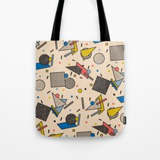 Memphis Inspired Pattern 7 Tote Bag