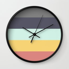 Pure Vintage palette  Wall Clock