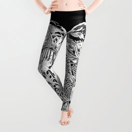 Koi Splash Tattoo Leggings Leggings