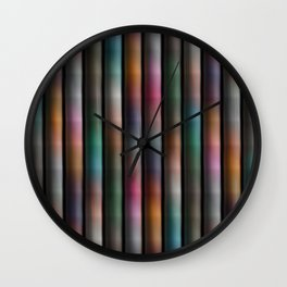 Colours Abound Soft Tones Wall Clock