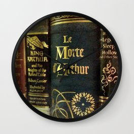 Adventure Library Wall Clock