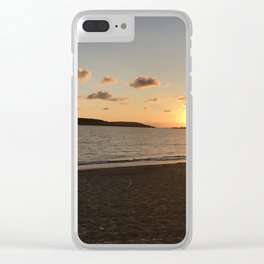 Sunset in Esperanza Clear iPhone Case
