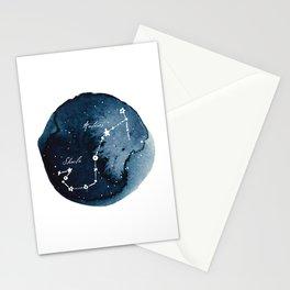 Scorpius Zodiac Constellation Stationery Cards