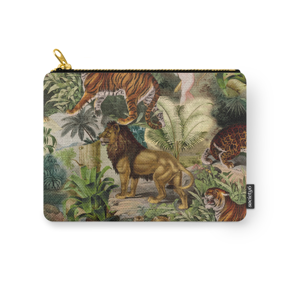 The Beauty Of The Forest Carry-All Pouch by burcukorkmazyurek