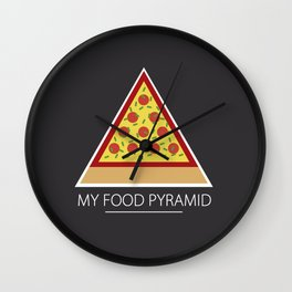 All you need is pizza Wall Clock
